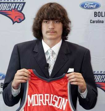 Adam Morrison, Draft Bobcats
