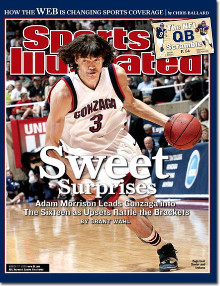 Adam Morrison, darling da NCAA