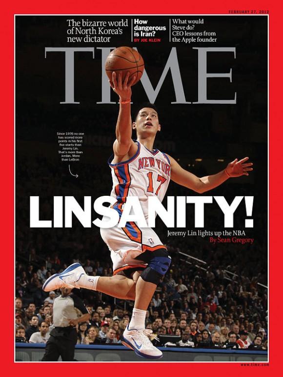 Capa da Time - Linsanity