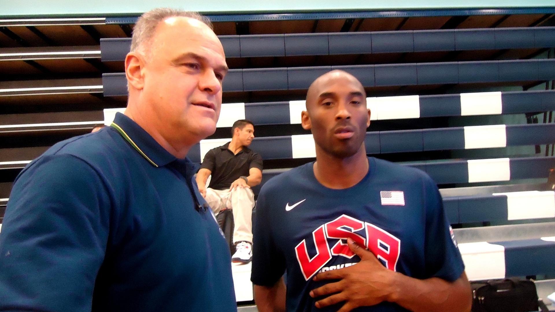 Kobe e Oscar Schmidt