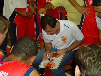 Régis Marrelli, técnico do São José
