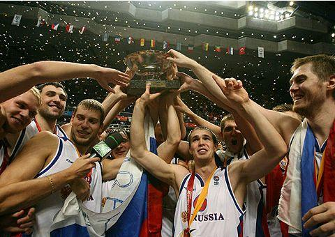 Rússia, campeã do Eurobasket-2007