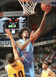 Lucas Bebê na Liga ACB