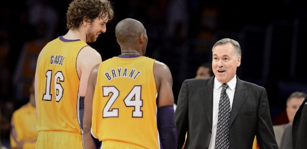 Kobe gosta de Mike D; Gasol... Ainda incerto