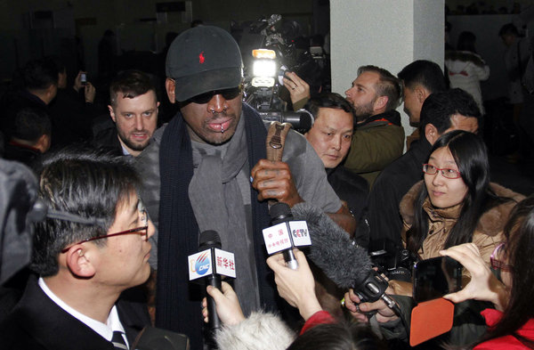 Sr. Rodman, embaixador