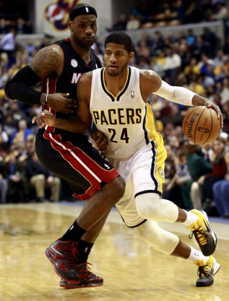 Paul George x LeBron James
