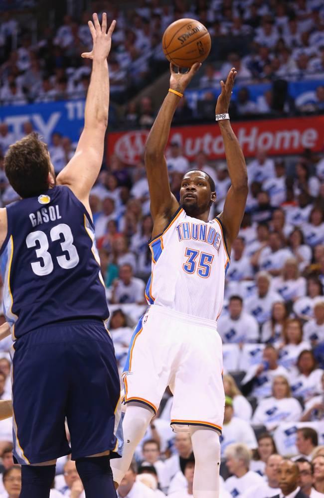 Kevin Durant x Marc Gasol
