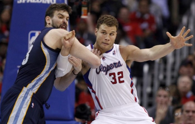 Marc Gasol x Blake Griffin, Memphis Grizzlies x Los Angeles Clippers