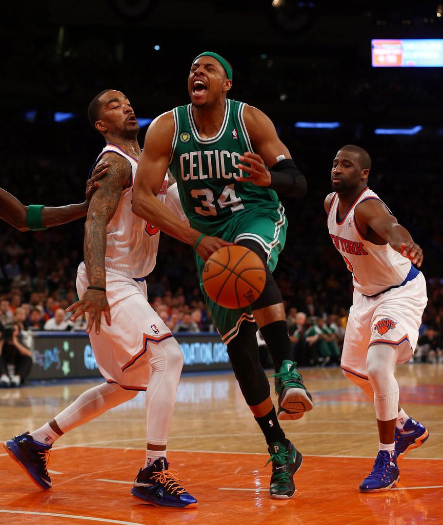 Pierce x Knicks