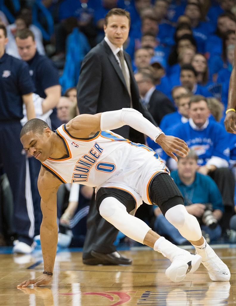 Westbrook fez falta