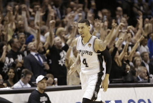 Danny Green on fire
