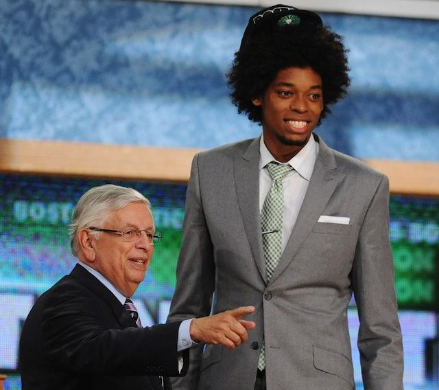 Lucas e sua icônica subida ao palco do Draft