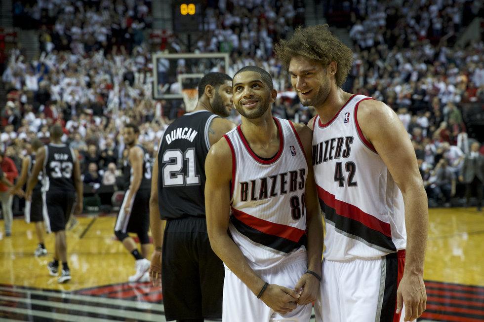 Spurs x Blazers