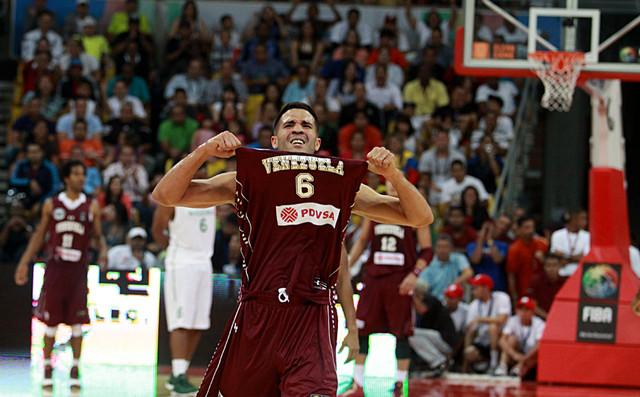 Vásquez, orgulho venezuelano e figura solitária da NBA em quadra