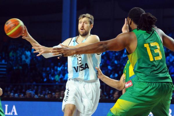 Nocioni: 9 pontos em 14 minutos na vitória argentina