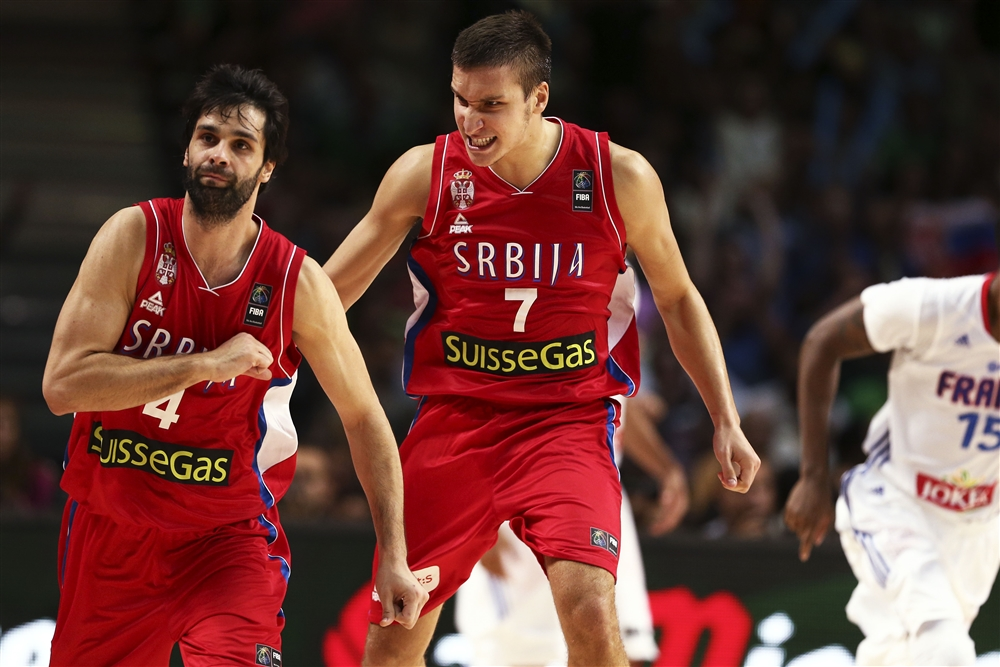 Teodosic, Bogdan-Bogdan: são de NBA, só não estão lá. Há vida na Europa