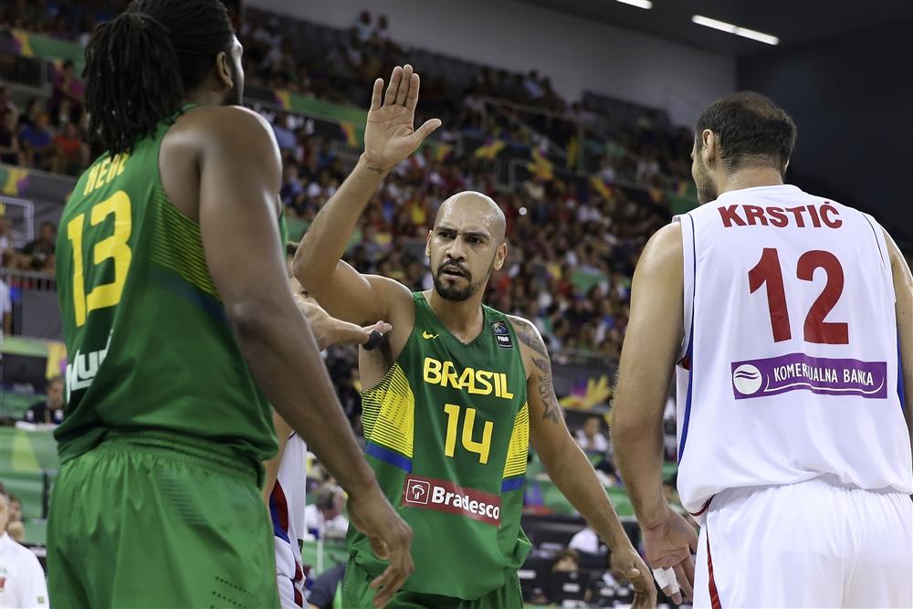 Marquinhos, o cestinha, Krstic, o inoperante: dois personagens da vitória brasileira