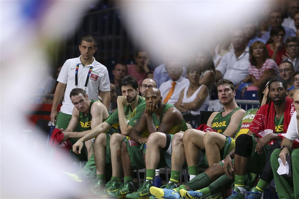 Seleção brasileira, banco, 2014, basquete