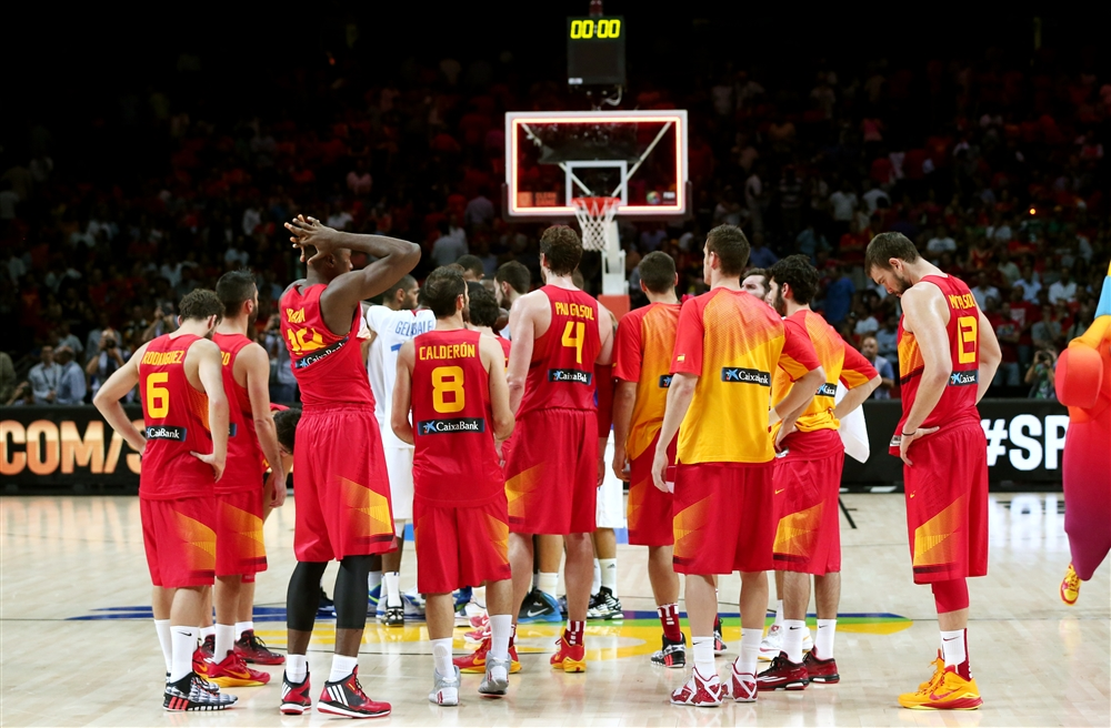 Espanha, baloncesto, basket, basketball, França, Copa do Mundo, Madri