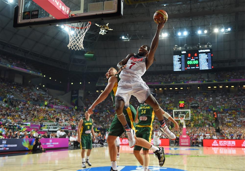 O Manimal Faried somou só 9 pontos e 6 rebotes na semi. Irving foi o cestinha com 18