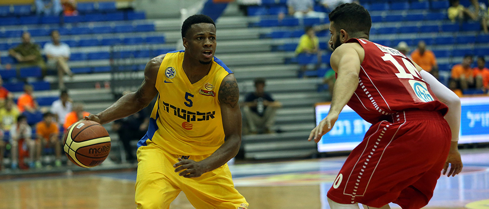 Haynes, agora no Maccabi, não foi muito bem na última Euroliga