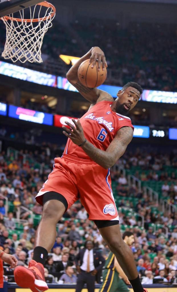 DeAndre foi o terceiro melhor reboteiro da temporda passada, mas não conseguiu livrar ou influenciar o Clippers no geral