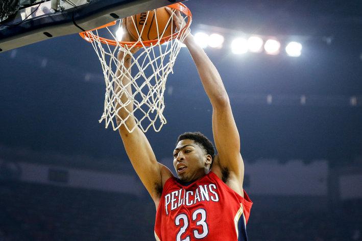 Anthony Davis, Pelicans, opening night, Magic