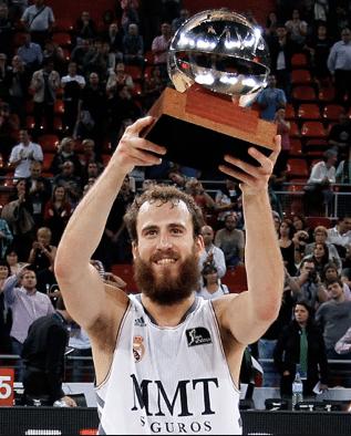 Sergio Rodríguez, Señhor Barba MVP