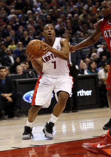 Lowry se tornou uma estrela em Toronto