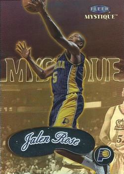 Jalen Rose, Indiana Pacers, card, 2000