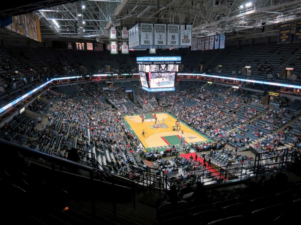 O Bradley Center já é considerado muito datado para os padrões da NBA