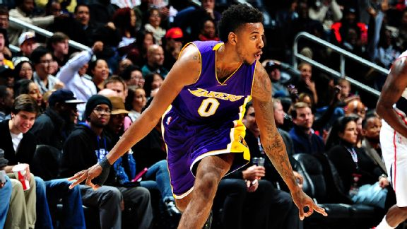 Nick Young, o Swaggy P