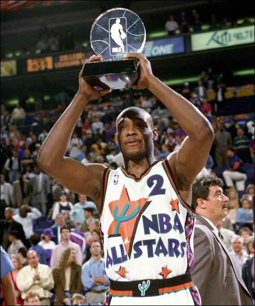 Mitch Richmond, All-Star MVP 1995, Sacramento