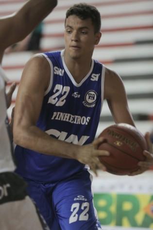 Lucas agora joga a LDB desde o início. Crédito: João Neto/LNB