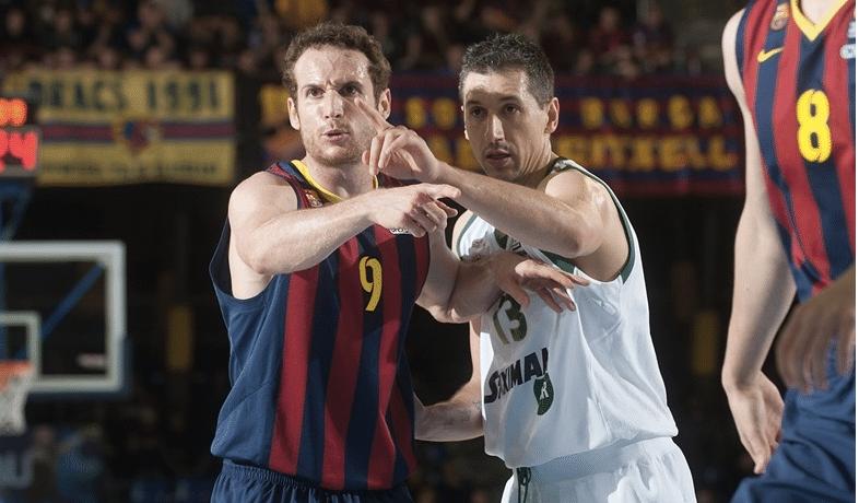 Diamantidis, considerado um dos melhores defensores do basquete europeu na história, não conseguiu parar Huertas
