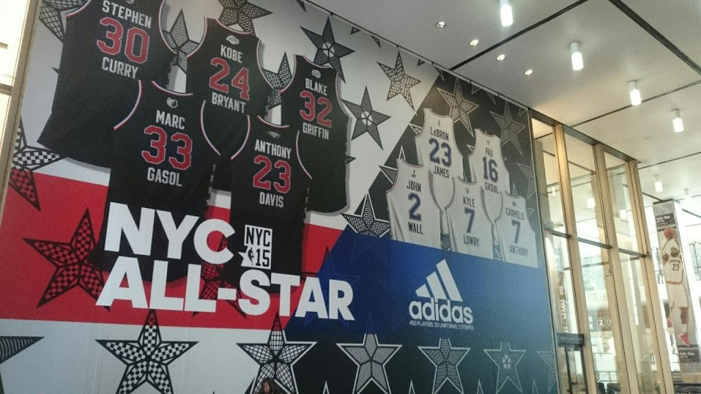 NBA, marketing, adidas, nyc, all-star