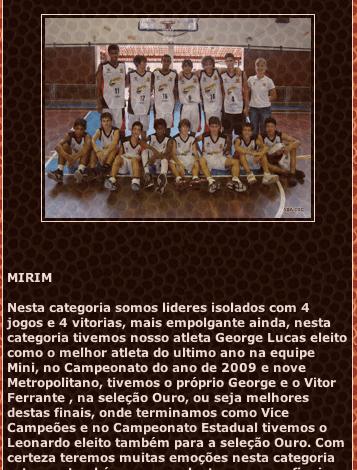 Notícia no agora precioso blog da ABA-SBC, a Associação de Basquete de São Bernardo do Campo