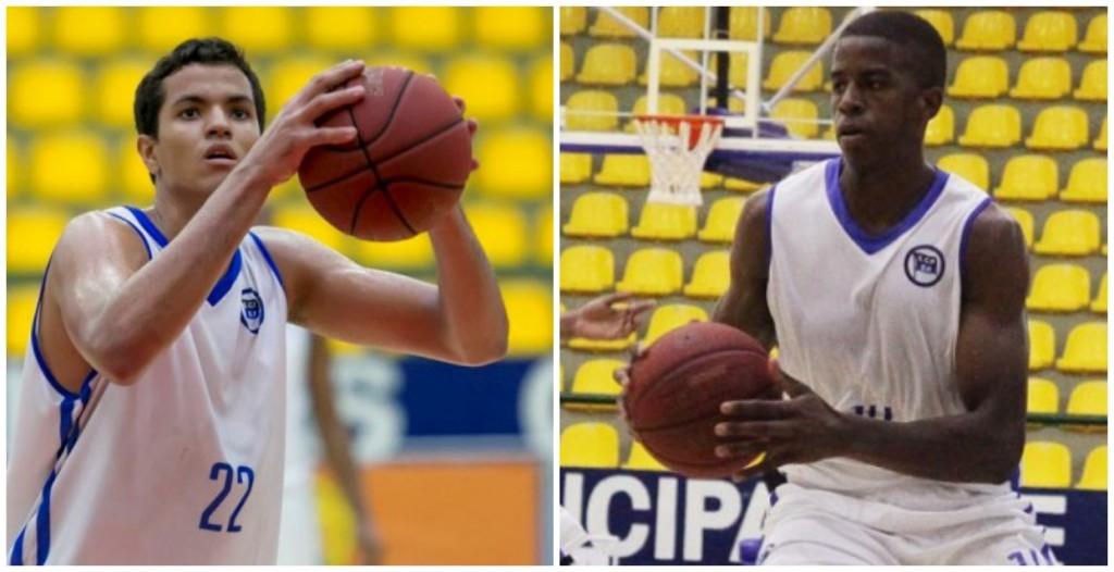 Lucas Dias e Georginho, duas apostas do Pinheiros