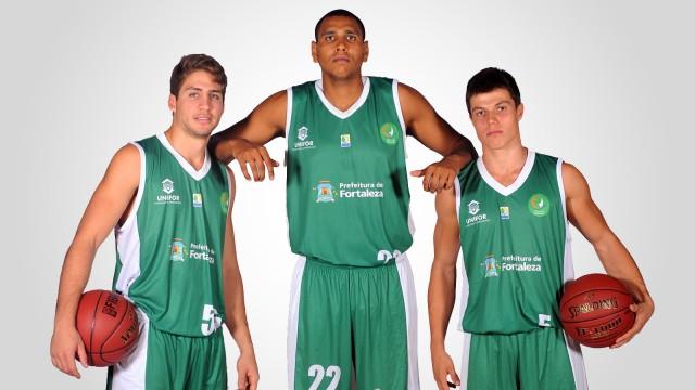 Victor de Gusmão, Erick Camilo e Davi: base 'experiente' na LDB