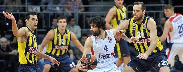 CSKA, de Milos, ainda está no páreo, mas Fener é o time da vez
