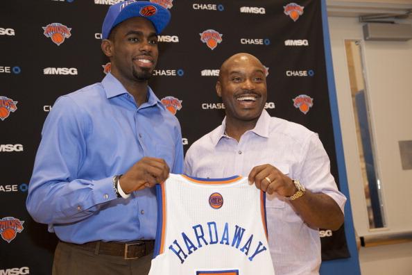 Quando jogavaa, Hardaway Sr. peitou o Knicks. Agora vê o filho por lá