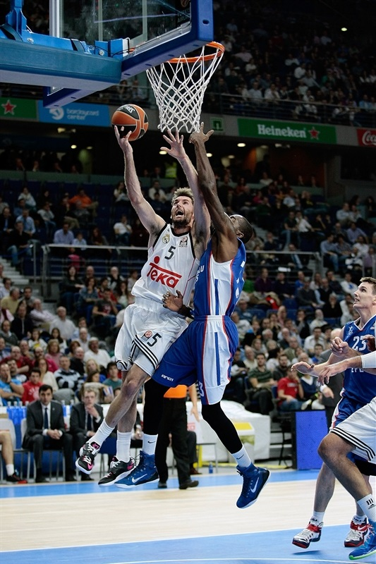 Rudy Fernández, o líder do Real 2014-2015: mais basquete, menos teatro