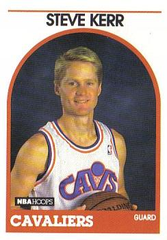 Steve Kerr, Cleveland Cavaliers, player, card