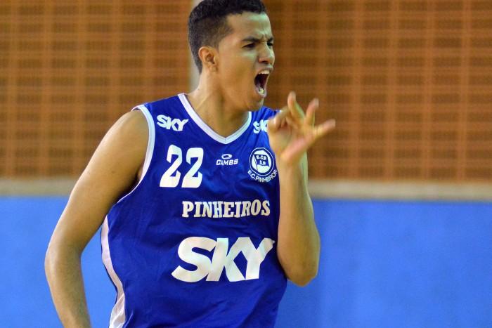 Lucas Dias, NBA Draft, Pinheiros, 1995