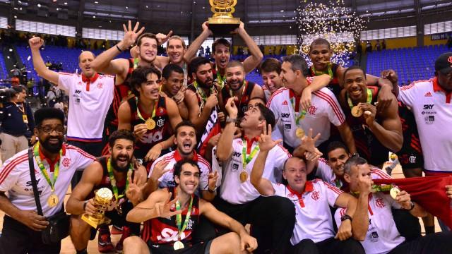 Flamengo, tricampeão, ainda hegemônico no NBB