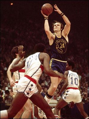 Ricky Barry era o Steph Curry do Warriors há 40 anos: um excepcional arremessador e All-Star