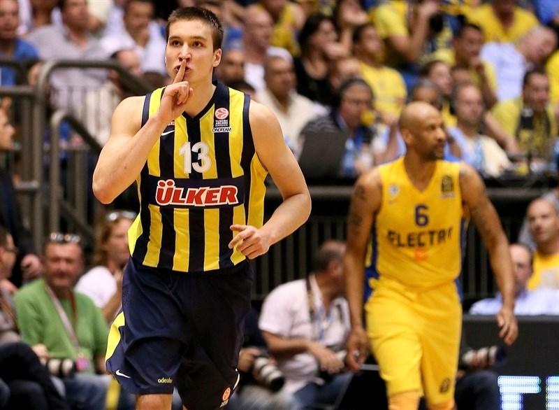 O Fener de Bogdan-Bogdan silenciou os campeões do Maccabi nas quartas