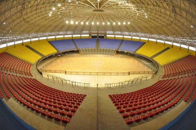 O ginásio em Marília, nova casa para o NBB