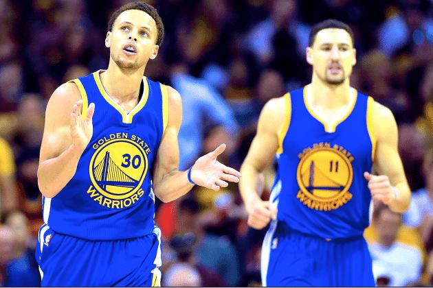 No que depender de Curry, é para o Warriors correr mais e mais. E chutar mais e mais