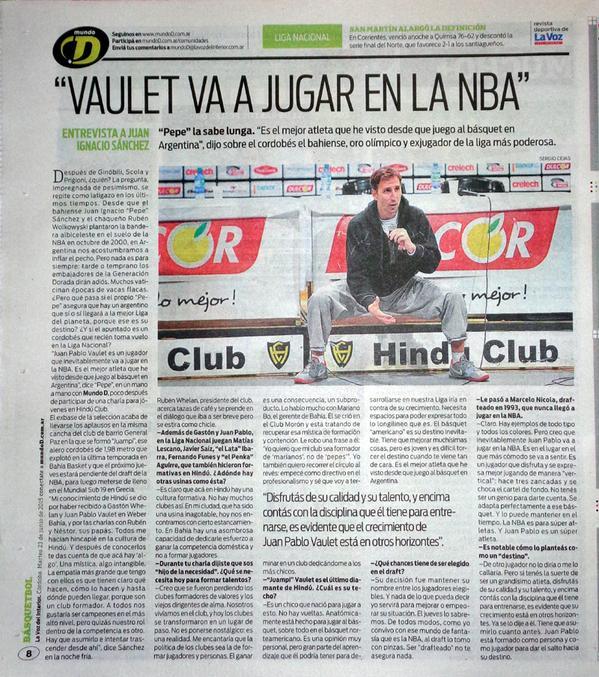 A entrevista contundente de Pepe Sánchez